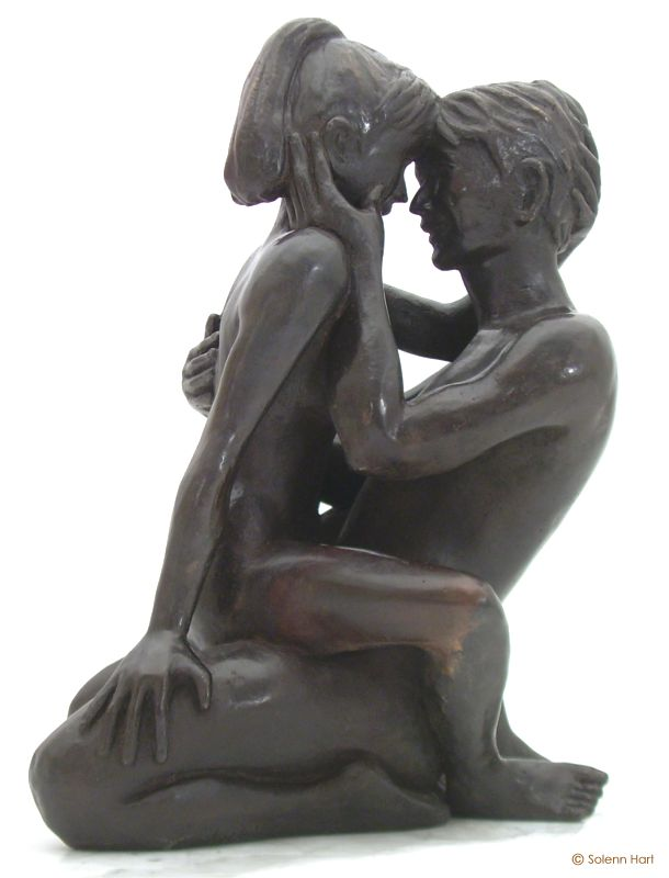 Sculpture couple statue nu