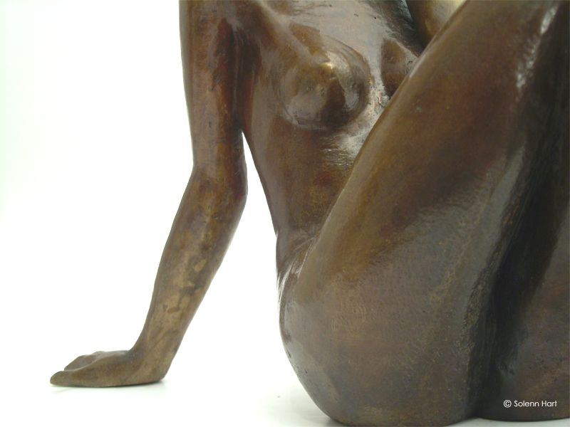 Belle vue sculpture bronze