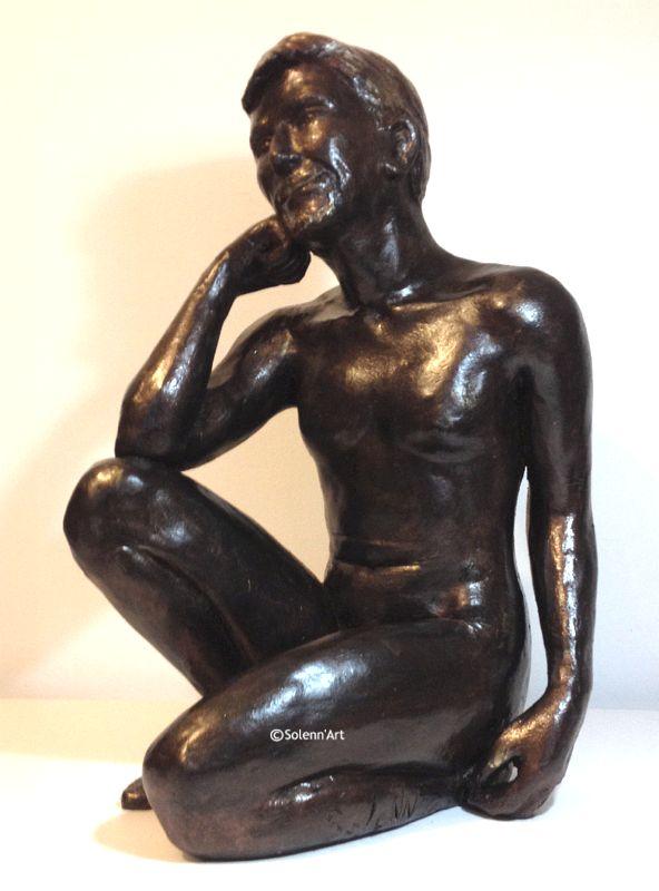 Top Sculpture nu masculin, Solenn sculpteur YX09